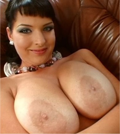 A slut with huge tits